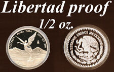 2x Mexico Libertad Silber-Münze je 1/2 oz PP polierte Platte 2011, Auflage 5.000