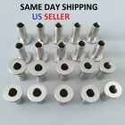 """T316 Stainless Steel Protective Protector Sleeve for 1/8"""" & 3/16? Cable Railing"""