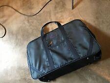 Pierre Cardin Blue Nylon Luggage Travel Trunk