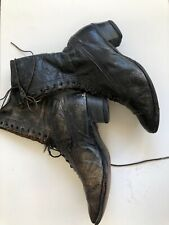 Victorian Laceup  Boots