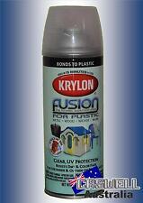 Krylon Fusion Plastic Paint 340gm - Clear UV Protection - AUS Seller