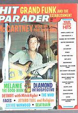 NOVEMBER 1971 HIT PARADER MAGAZINE-PAUL McCARTNEY-GRAND FUNK-STEVE WINWOOD-WHO