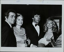 Morgan, Alan Thicke, Gloria Loring, Larry Thompson ORIGINAL PHOTO HOLLYWOOD