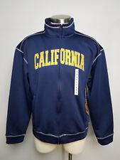 UC Berkeley Bears Men's Campus Drive Full Zip Long Sleeve Jacket Sz Large Blue