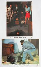 SHAFT 1971 movie LOBBY CARDS x 2 blaxploitation