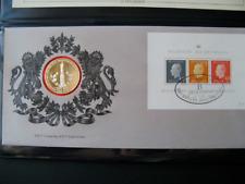 Roi Baudoin, Enveloppe timbre-médaille, 25 ans de règne