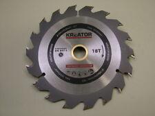 Circular saw blade wood rip cut carbide tipped 130mm 18 teeth,20/16/12.7/10 bore