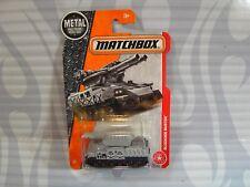 2017  MATCHBOX  #71 = BLOCKADE BUSTER  = GRAY  military tank vehicle