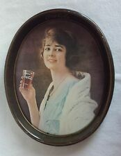 Vintage Coca Cola Girl Serving Tray 1973 - 1923 Advertisement