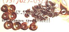 1970 - 1981 TRANS AM 4 PIECE WHEEL SPOILER FLARE MOUNTING KIT - SCREWS FASTENERS