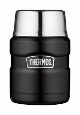 Thermos, Contenitore per alimenti King, Nero (Mattschwarz), 0,45 l (l2H)