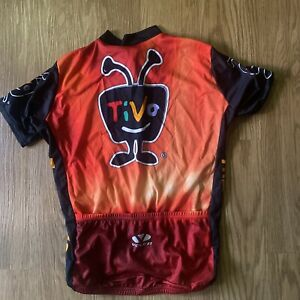 Voler Cycling Jersey Men Med Orange Cycles Bicycle Pockets Team Tivo