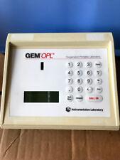 Instrumentation Laboratory GEM OPL Oxygenation Portable Laboratory