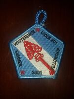 Boy Scout OA 201 White Horse Lodge 2001 Summer Fellowship Event Patch