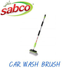 SABCO Car Wash Brush Supersoft bristles for safe, effective cleaning