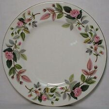 """WEDGWOOD china HATHAWAY ROSE R4317 pattern Dinner Plate @ 10-3/4"""" - scratching"""