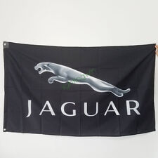 New Banner Flag for Jaguar Flag Wall Decor 3x5ft Black