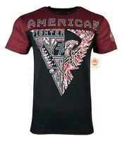 AMERICAN FIGHTER Mens T-Shirt FAIRBURN Athletic Biker MMA Gym UFC $40