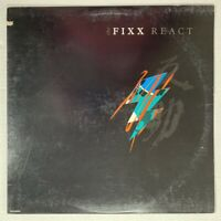 THE FIXX React LP 1987 - MCA-42008 - VG+