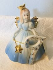 Vintage Josef Originals Birthday Angel Girl Doll Age 9 Ceramic Figurine With Tag
