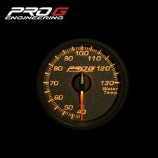 Pro G Race Series RC Gauge - Water Temperature °C 52mm (amber red)