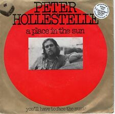 7inch PETER HOLLESTELLE a place in the sun HOLLAND 1975 EX SOC