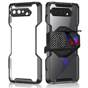 ASUS ROG Phone 5 Armor Cooler Air Trigger Compatible Cover Screen Protector Case