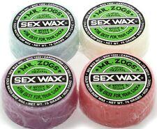 SEX WAX Original Green COLD Water Surfwachs Surfbrett Wachs