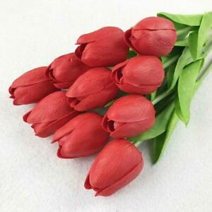 Artificial Bouquet Real Touch Flowers Tulip Artificial Flower For Home Wedding