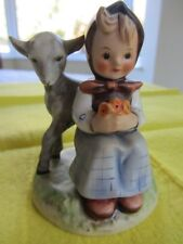 HUMMEL 10cm GOOD FRIENDS TMK3  HUM 182  GIRL and LAMB