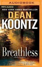 Breathless by Dean Koontz (2016, MP3 CD, Unabridged)