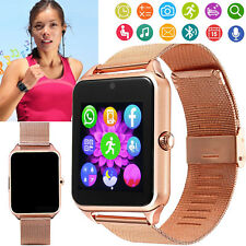 Women Lady Business Bluetooth Smart Watch Phone Call SMS for Android Samsung LG