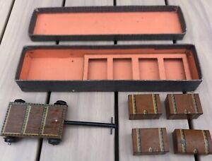 Echelle O - Rares Bagages et Chariot Accessoires Gare + Boite - JEP, Hornby, BLZ