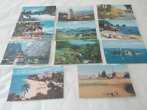 Set of 11 Pan American Postcards - Unposted