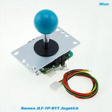 100% Genuine Original Sanwa JLF-TP-8YT Joystick For Aracde DIY Parts MAME #Blue