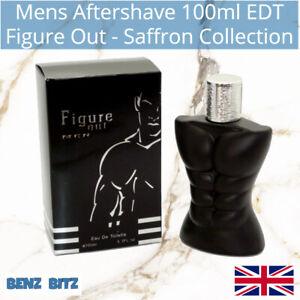 Figure Out Mens Aftershave By Saffron 100ml EDT Eau De Toilette Spray