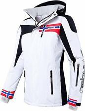 Nebulus Women's High End Platinum Freestyle Ski/Snowboard/Winter Jacket - White