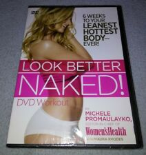 Look Better Naked! DVD Workout 6 Weeks to Your Leanest Hottest Body Ever fitness