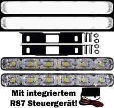 2x LED Tagfahrlicht FLAT 6SMD +Steuergerät Audi A4 8EC B7 A6 4B C7 8H Limo Avant
