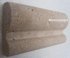 Travertin Marmor Antikmarmor Naurstein Fliese Bordüre Spiegel Spiegelbordüre