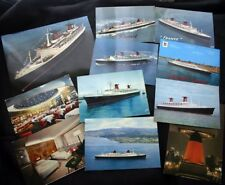 "CGT FRENCH LINE SS ""FRANCE"" 11 Postcard Lot"