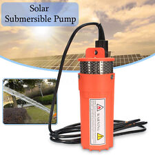 DC24V Submersible Deep Solar Battery Well Fountain Water Pump Alternative Energy