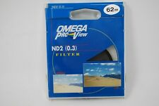 New OMEGA ProView Filter 62mm ND2 (0.3) Filter Old Stock Original Part NEW
