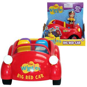 The Wiggles Big Red Car & Glitter Bow Emma