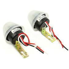 2x Auto On Off Street Light Lighting Switch Control Photocell Photoswitch Sensor