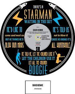 DAVID BOWIE - ART - STARMAN - POSTER PRINT - Limited Edition - MEMORABILIA