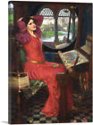 I am Half-Sick of Shadow said Lady of Shalott Canvas Art John William Waterhouse