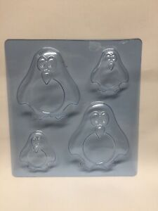 Penguin Mould Chocolate Sweets Jelly Mold Cake Topper Baby Jellies Decoration