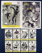 Blätter Yvert 169 Mnh Sport Fußball Grenada Grenada Grenadinen Karibik