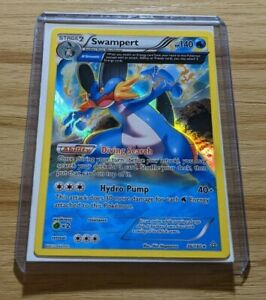 Swampert 36/160 - Primal Clash Holo Rare Pokemon Card